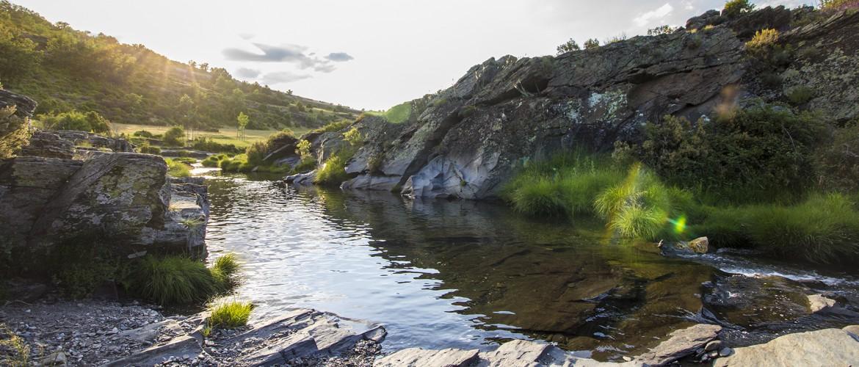 bañarse en un rio